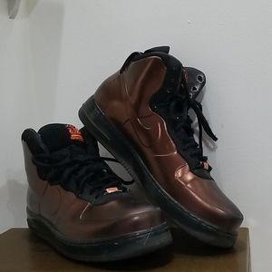 Nike BHM metalic copper hi top sneakers men size13
